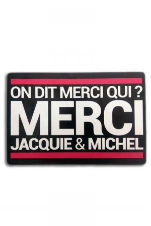 Tapis de souris Jacquie et Michel - A la demande g�n�rale des Jacquie et Michel Addicts, voici le tapis de souris! On dit merci qui?