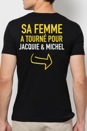 Tee shirt  Provoc J&M - Le tee-shirt humoristique J&M r�serv� aux Mecs M�ga Costauds ! Vous avez le go�t du risque ?
