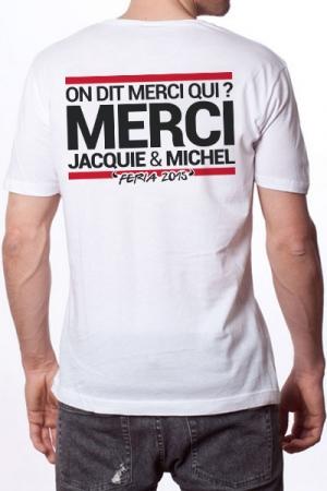 Tee-shirt Jacquie & Michel sp�cial Feria 2015 - J&M les teeshirts Edition sp�ciale Feria 2015!
