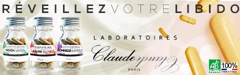 Laboratoires Claude, la cure de vitamines qui r�veillera votre libido !